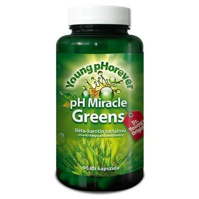 Young pHorever - pH Miracle Greens, 90 kapszula