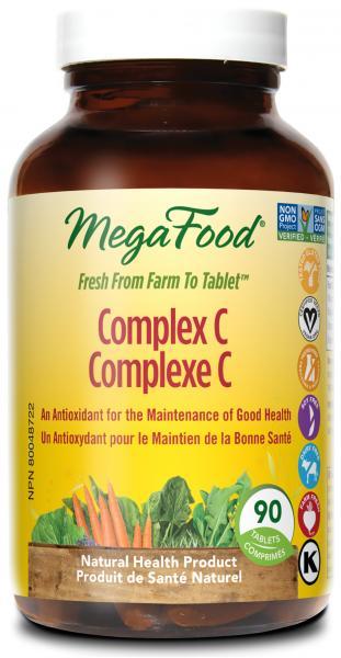 MegaFood Complex C 90db tabletta
