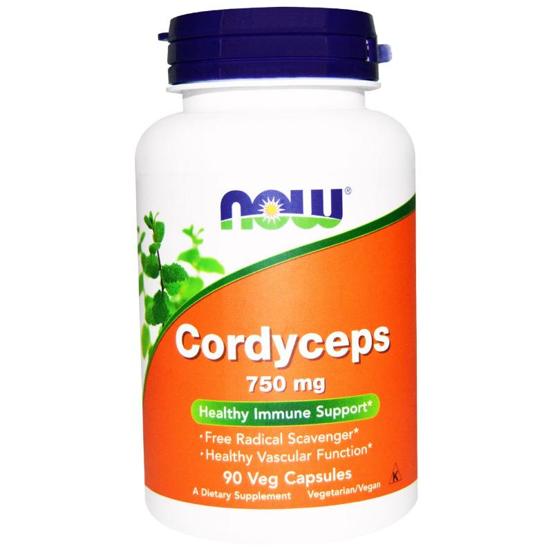 NOW Cordyceps 750mg 90db