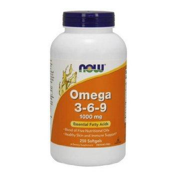 NOW Omega 3-6-9, 250db kapszula