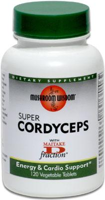 Super Cordyceps gyógygomba tabletta, 120db