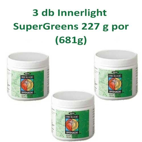 SuperGreens 3X227g por AKCIÓS CSOMAG (681g)
